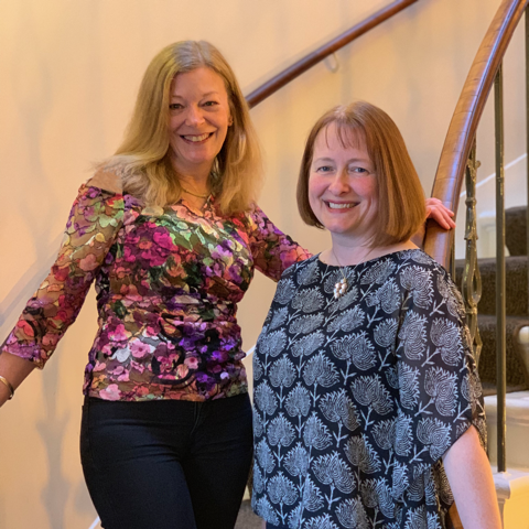 Lesley and Heather celebrate a quarter century at Cameron Optometry